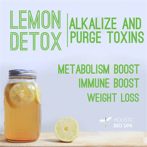 Detox Spa Mexico by Alkalize Your With Lemon Water Holistic Bio Spa