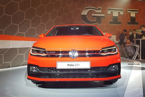 volkswagen polo gti revealed pictures auto express