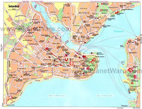 printable map of istanbul turkey large istanbul maps for free download and print high