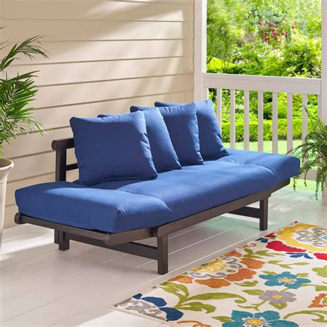 outdoor futon futon outdoor home decor
