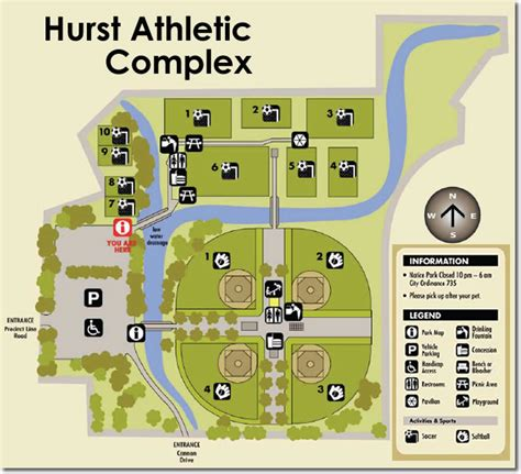 texas field map texas soccer fields hurst athletic complex hurst tx field details