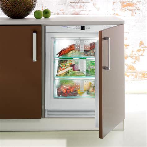 under bench freezers liebherr uig 1313 integrated under bench freezer designed kitchen appliancesdesigned