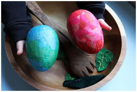 Decoupage Eggs - decoupage paper mache eggs the creative salad