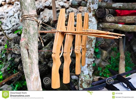 Handmade Crossbows - handmade crossbow stock photo image of material crossbow