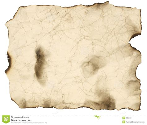 imagenes de hojas en blanco old burnt paper sheet stock photo image 426660
