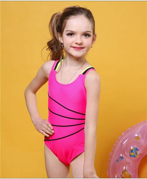 Model Monokini Free Size 2 andzhelika 2017 swimsuit one swimwear solid bandage bodysuit children beachwear