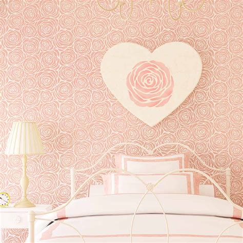 wall pattern stencils uk roses allover stencil large diy wall design better