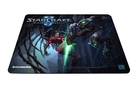 Special Edition Mousepad Gaming Steel Series Packing Dus 22 X 27 steelseries unveils new blizzard entertainment co branded starcraft ii gaming surfaces