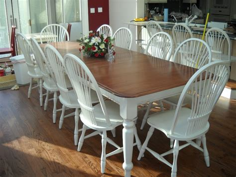 refinishing dining room table white dining table at the galleria