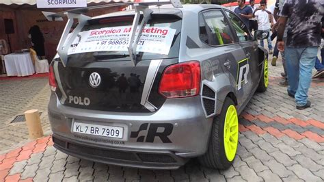 volkswagen polo white modified modified vw polo youtube
