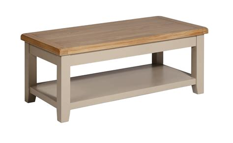 Henley Coffee Table Henley Truffle Coffee Table Light Oak Top With A Painted Pine Composite Base Suffolk Essex