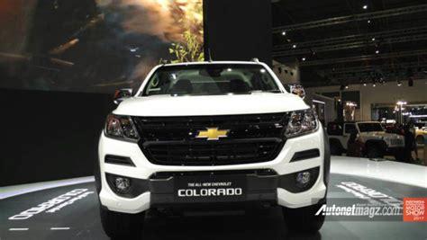 Lu Belakang Chevrolet Colorado all new chevrolet colorado diperkenalkan di iims 2017