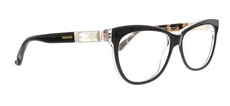 swarovski sk5091 005 black womens eyeglasses size 56 ebay