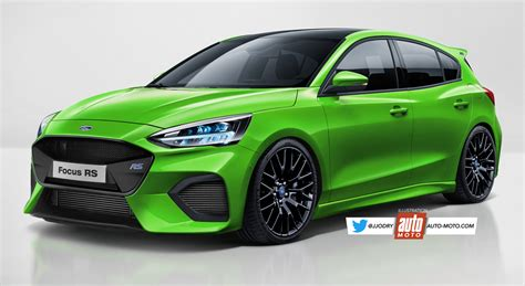 Ford Rs 2020 by Future Ford Focus Rs 2020 La Barre Des 400 Ch Se Rapproche