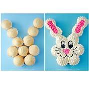 Pull Apart Easter Bunny Cupcake Cake  Crafty Morning