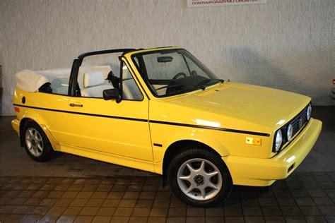 volkswagen rabbit 1990 1990 volkswagen cabriolet 125260