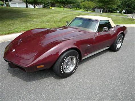 sell used 1975 chevy corvette sport coupe l82 4 speed in coldwater ohio united states sell used 2008 zhz corvette limited edition in san diego california united states for us