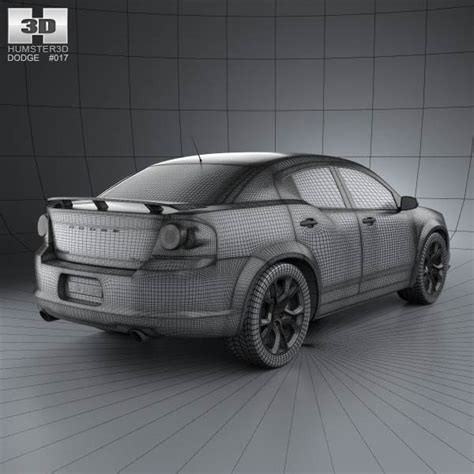 3d Avenger dodge avenger rt 2012 3d model hum3d