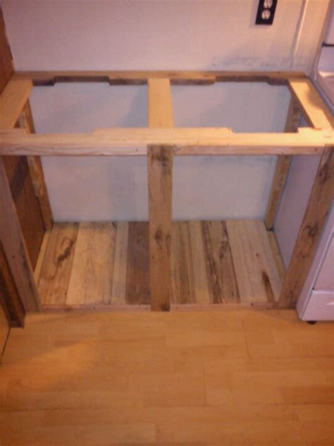 plan your kitchen with b q projects diy at b q kitchen cabinet made from a pallet stuff to try