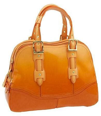 Maxx New Yorks Bridle Chrome Large Bowler The Ultimate Metallic Bag by Maxx New York Sle Sale
