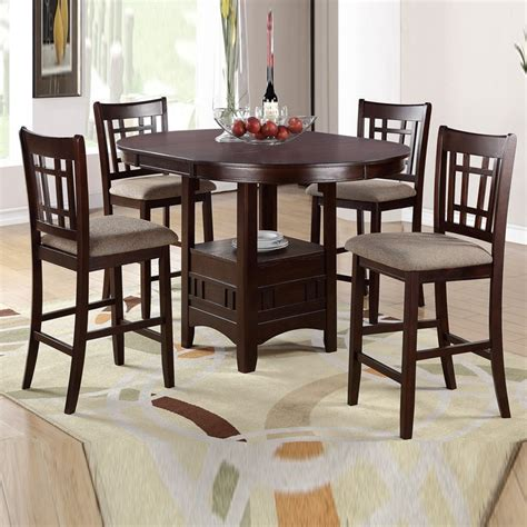 high table and chair set high top table sets to create an entertaining dining space