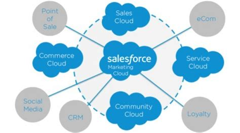 salesforce sales types of salesforce cloud used for business growth