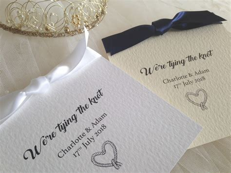 Wedding Invitations Knot tying the knot wedding invitations wedding invites