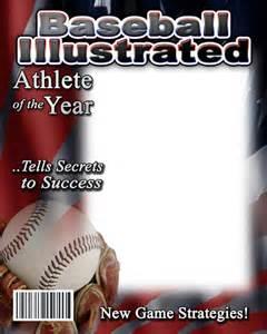 digital magazine template free baseball photo templates