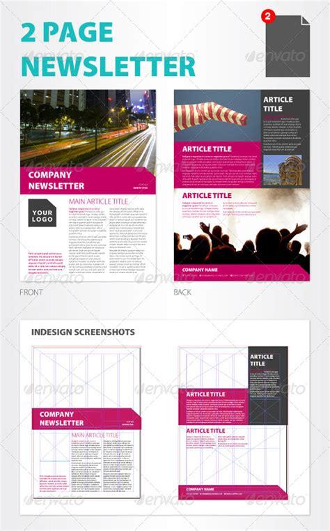 20 Finest Printable Newsletter Templates Multi Page Newsletter Templates