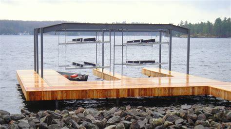 boat overhead wet slip boat lifts overhead boat lift systems r j