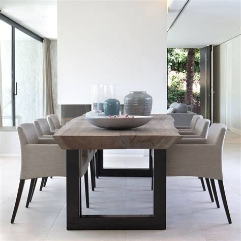 modern dining room table and chairs best 25 contemporary dining table ideas on pinterest