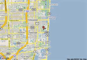 map hallandale florida map of the diplomat country club and spa hallandale