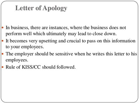 Apology Letter To After Being Fired Letters 2 Staff