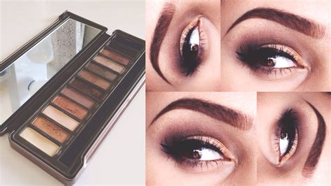 Makeover Eyeshadow Pallete decay 2 palette makeup tutorial