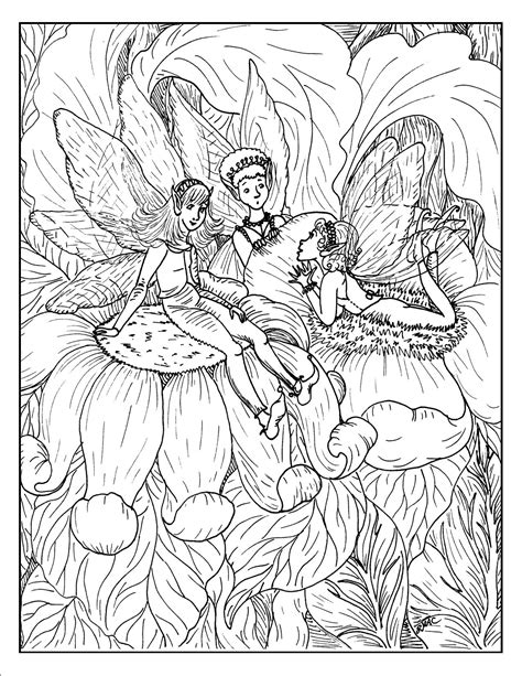 adult coloring page coloring home fantasy art coloring pages for adults coloring home