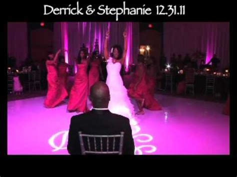 "Bride Surprises Groom With ""Love On Top"" Dance At Wedding"