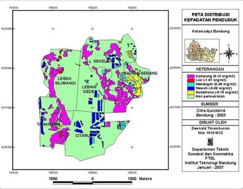 Contoh Layout Peta Tematik | permasalahan penduduk abel petrus