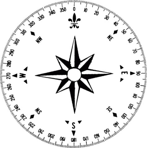blank compass rose worksheet cliparts co