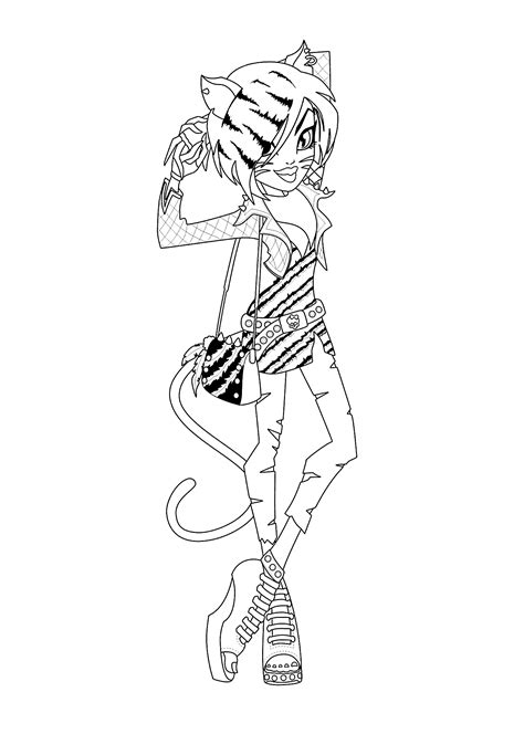Coloring Pages For Girls Monster High Bestofcoloring Com High Colouring Pages Printable
