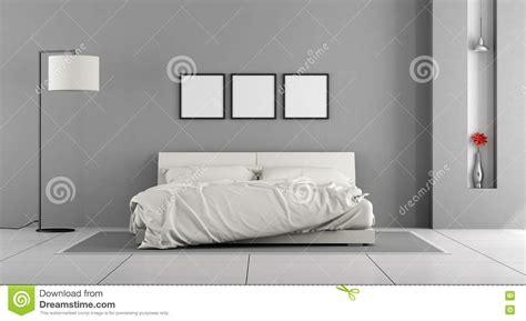graues und gelbes schlafzimmer wei 223 es und graues schlafzimmer stock abbildung bild