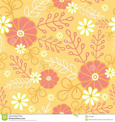 flowers seamless pattern element vector background hot flowers seamless pattern background stock photos