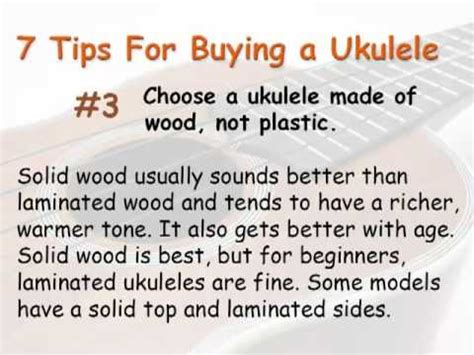 7 Tips On Buying Stuff From On Craigslist by 7 Tips For Buying A Ukulele