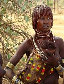 African tribes ethnic beauty