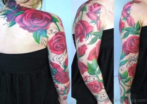 46 fabulous vine tattoo on arm