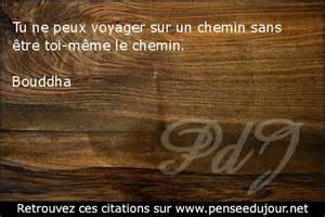 chemin de vie citation de bouddha