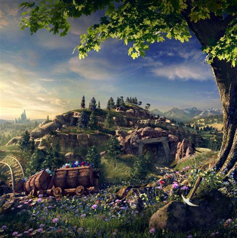 disney new fantasyland seven dwarfs mine concept 14 visitor experiences we re excited about in 2014
