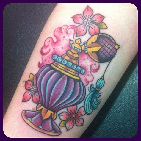 purple perfume tattoos pinterest purple traditional