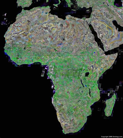 satellite map images africa map and satellite image