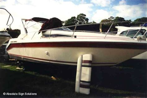 boat decals sydney boat decals striping boat signs vinyl lettering