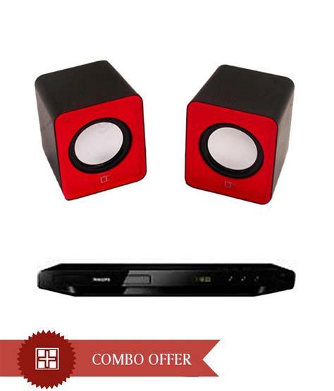 Speaker Dvd Mini philips 3858 dvd player with live tech mini speaker
